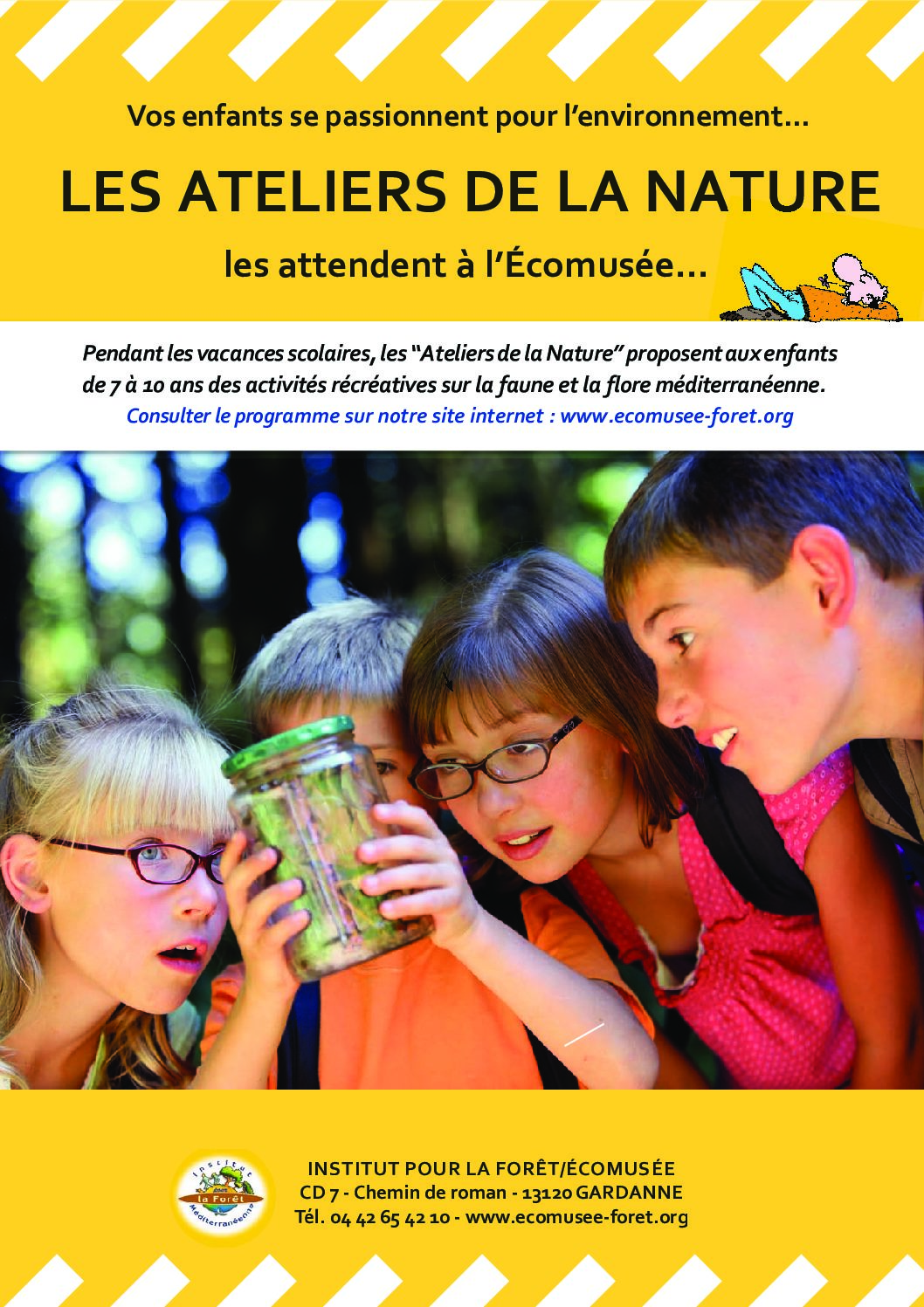 Ateliers Nature – Vacances de printemps